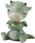 Green Sulky Dragon Statue