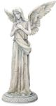 Guardian Angel Statue - Angel Of Consolation Figurine  - Armaita