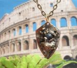 Roman Holiday Art Metal Necklace