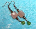 Safari Sunrise Gemstone Earrings