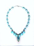 Blue Moon Splendor Gemstone Necklace