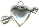 Heart And Arrow Jewelry Pendant