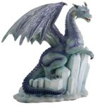 Ice Dragon On Ice Statue
