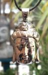 Kwan Yin Head Jewelry Pendant