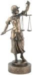 Lady Justice With Sword Statue