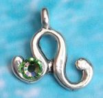 Leo Zodiac Birthstone Necklace Jul 22/23 - Aug 23