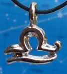Libra Zodiac Jewelry Pendant -Sep 23 - Oct 23.