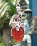 Love Goddess Bast -medium Gem Pendant
