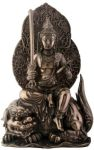 Manjushri Statue - Bronze Finish