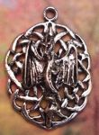 Medium Celtic Knot Dragon Celtic Jewelry Pendant