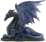Midnight Dragon Statue