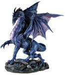Midnight Dragon - Large Statue