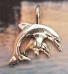Mother And Baby Dolphin Jewelry Pendant