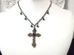 Parisian Cathedral Vintage Style Necklace