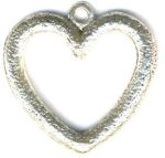 Patterned Heart Jewelry Pendant