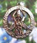 Peace Goddess Jewelry Pendant