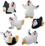 Penguins - Set Of 6 Figurine Statues