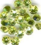 Peridot Faceted Gemstone