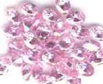 Pink Cubic Zirconia Faceted Gemstone