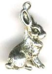Playful Bunny Jewelry Pendant
