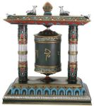Prayer Wheel Statue