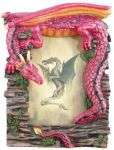 Red And Purple Dragon Picture Frame