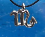 Scorpio Zodiac Jewelry Pendant -Oct 23 - Nov 23.