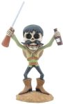 Day of the Dead Big Head Banditio Statue