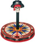 Skull Pirate Cd-dvd Spindle Holder