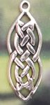Small 2 Lives Entwined Celtic Jewelry Pendant