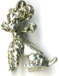Terrier Dog Jewelry Pendant
