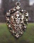 Triple Lion Crest Celtic Jewelry Pendant