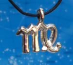 Virgo Zodiac Jewelry Pendant -Aug 23 - Sep 23.