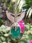 Winged Goddess Isis Gem Pendant